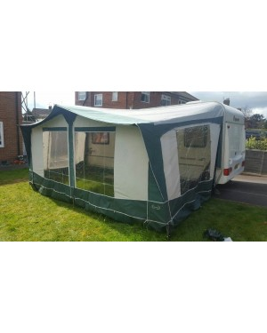 Bradcot Classic Awning 875 cm Green Easy Alloy Frame