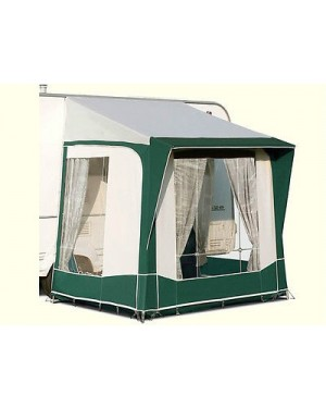 Bradcot Portico Porch Awning Green Teal Steel Frame
