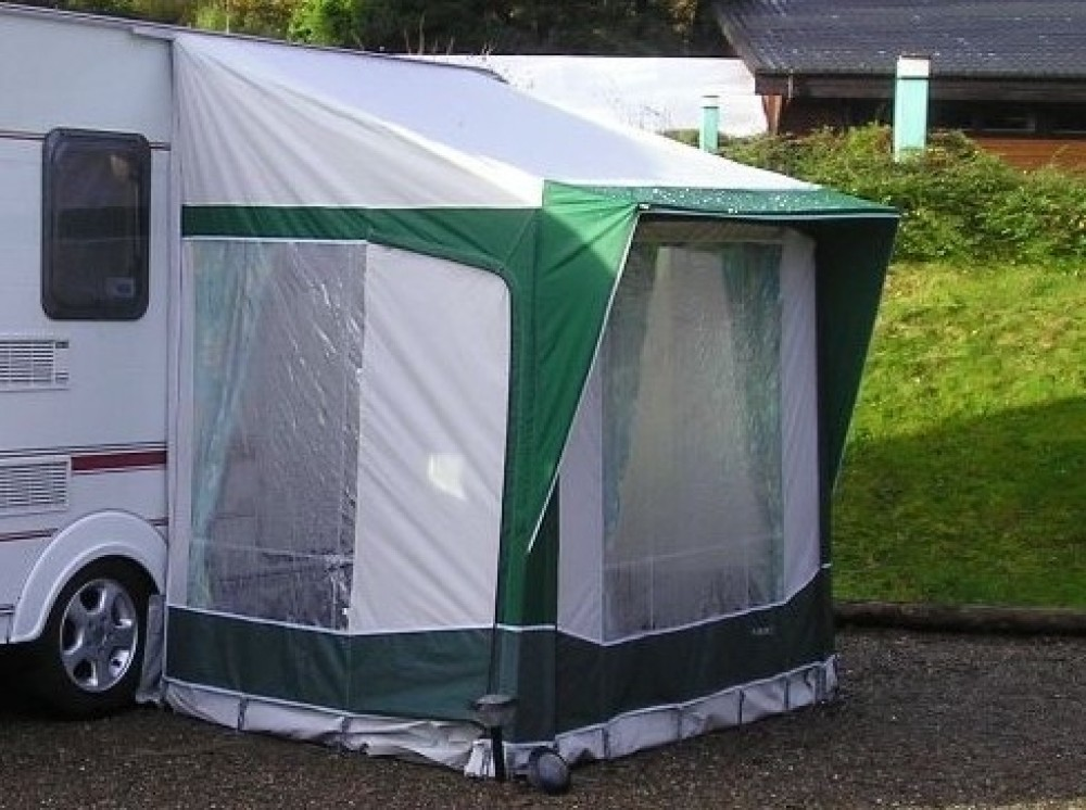 Bradcot Portico Porch Awning Green Teal Alloy Frame